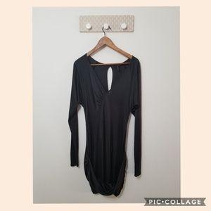 BCBGMAXAZRIA dress long sleeve size S